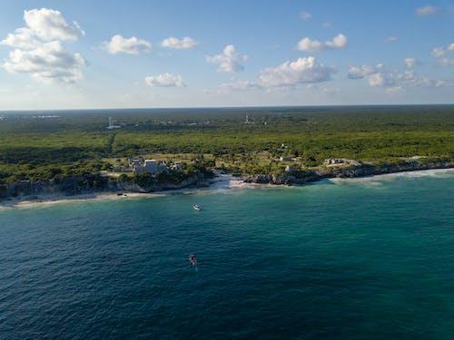 Immagine gratuita di maya, messico, oceano, rovine