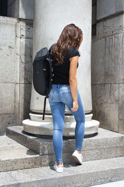 Immagine gratuita di messicano, ragazza, schiena, università