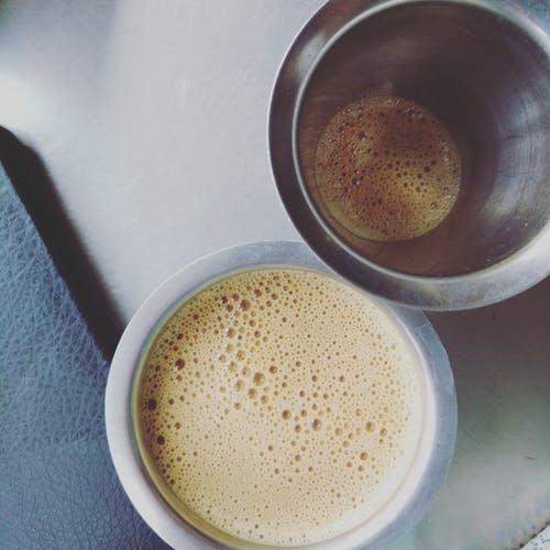Free stock photo of coffee, coffee cup, filter coffee, india