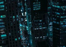 noc miasta