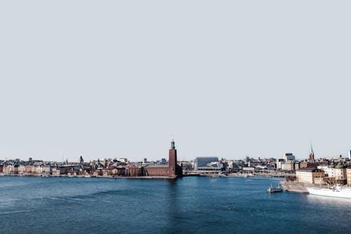 Photos gratuites de architecture, baie, bâtiments, bord de l'eau