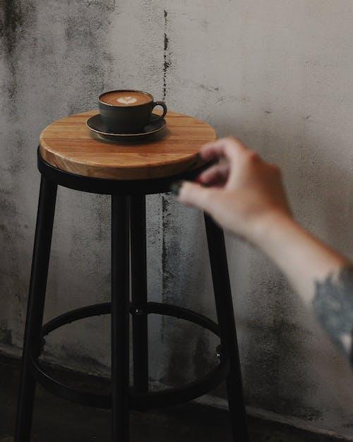 Δωρεάν στοκ φωτογραφιών με latte art, αναψυκτικό, καπουτσίνο, καφές