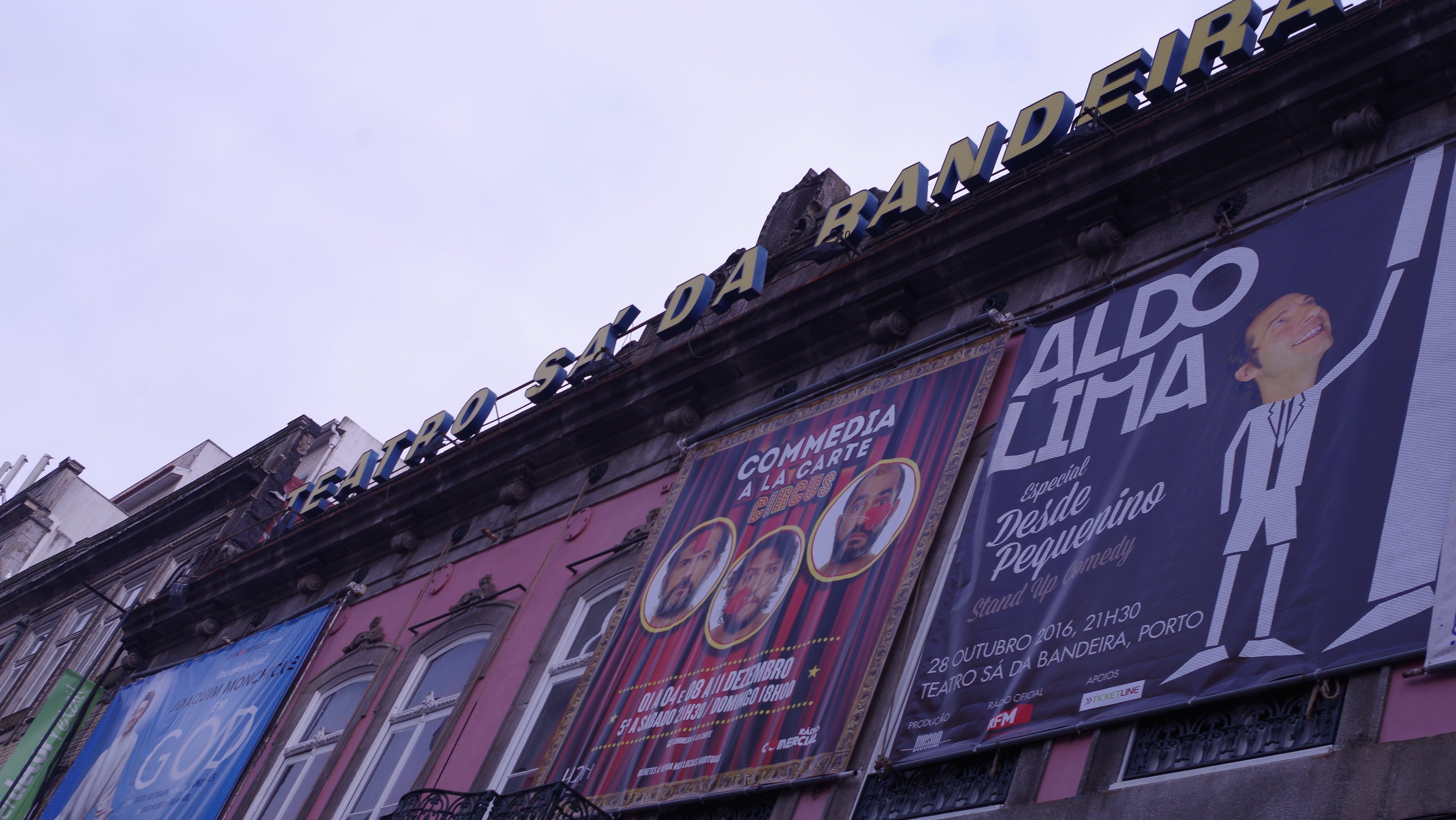 Free stock photo of oporto, Porto, Porto theatre, portugal