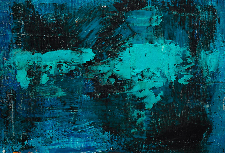 Foto d'estoc gratuïta de abstracte, acrílic, art, blau