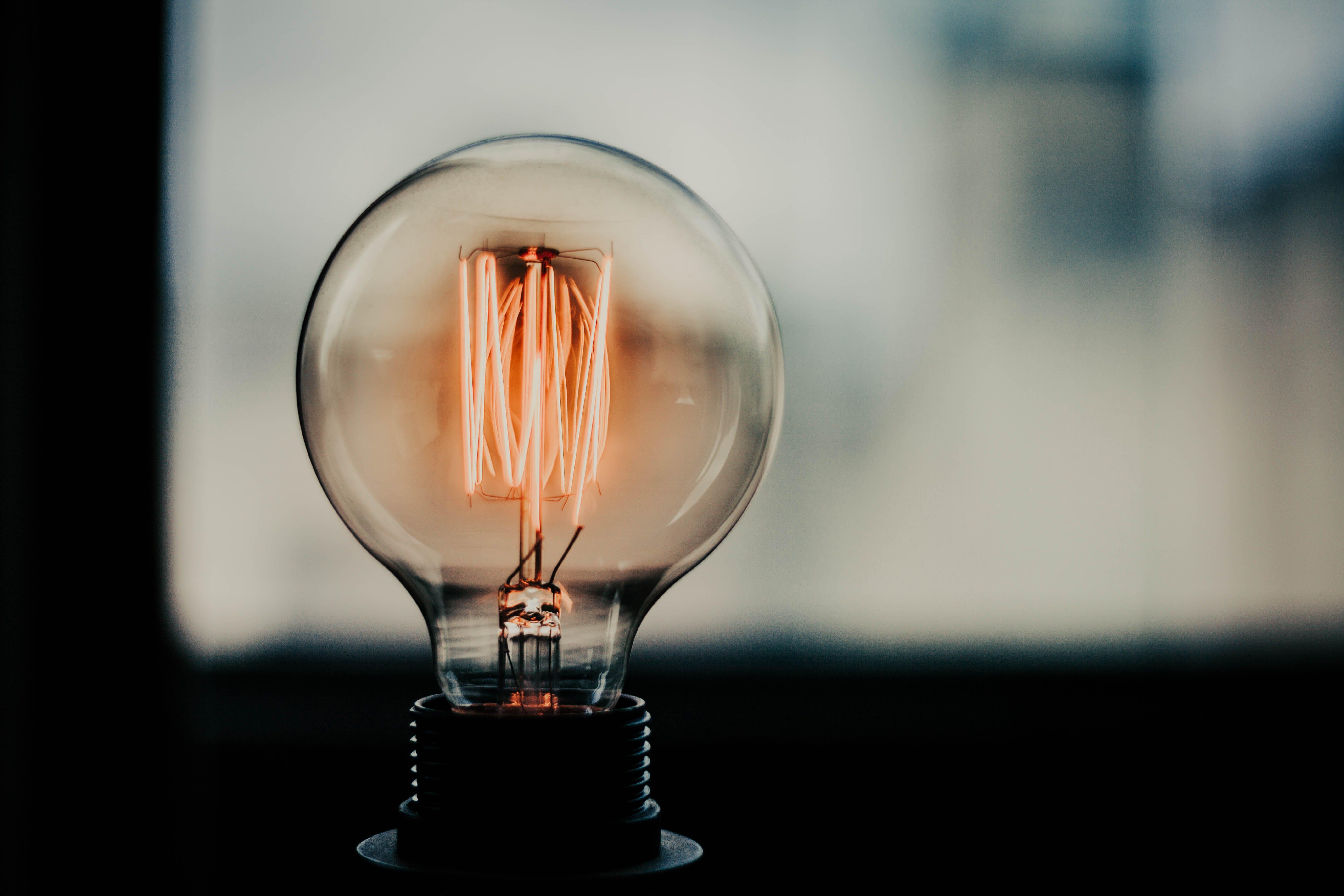 Turnedon Lamp