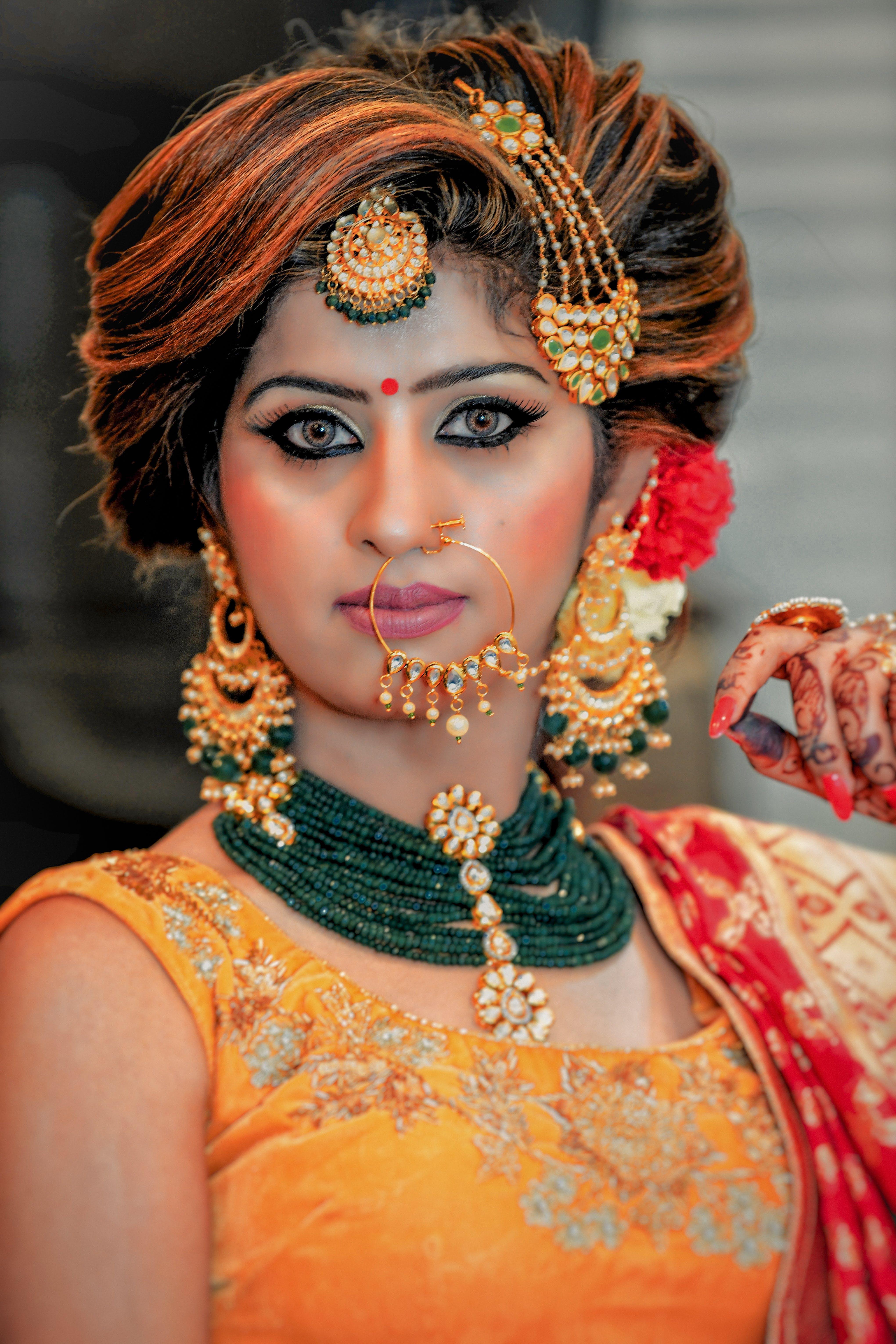 럭셔리, 메이크업, 목걸이, 문화의 무료 스톡 사진