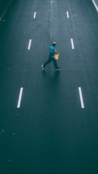 Free stock photo of crossing, road, man, person