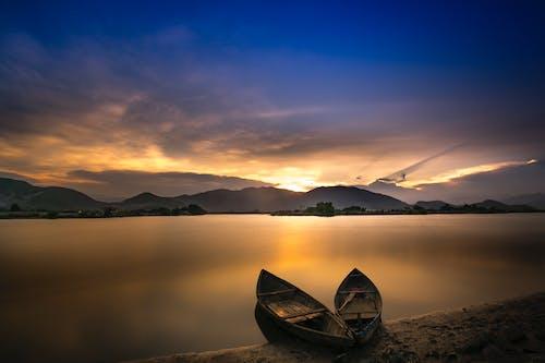 Základová fotografie zdarma na téma jezero, krajina, mlha, moře