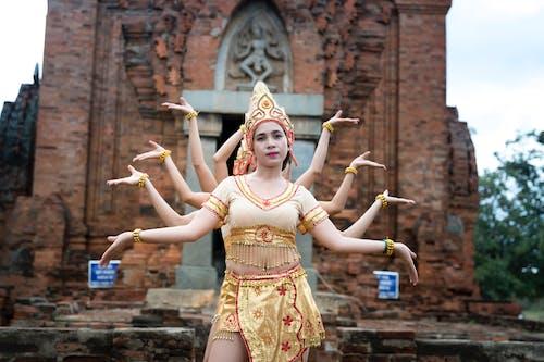 Frauen, Die Hinduistische Gottheit Bilden