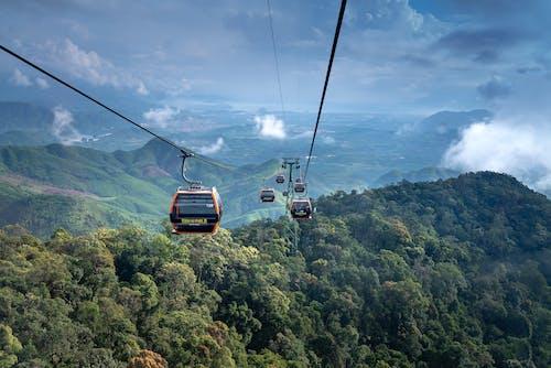 丘陵, 交通系統, 假期, 冒險 的 免費圖庫相片
