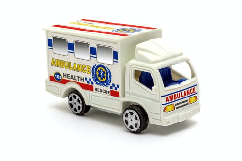 Free stock photo of ambulance, icon, red cross, toy