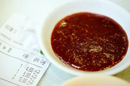 Foto stok gratis makanan korea