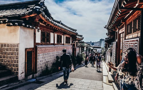Free stock photo of house, korea