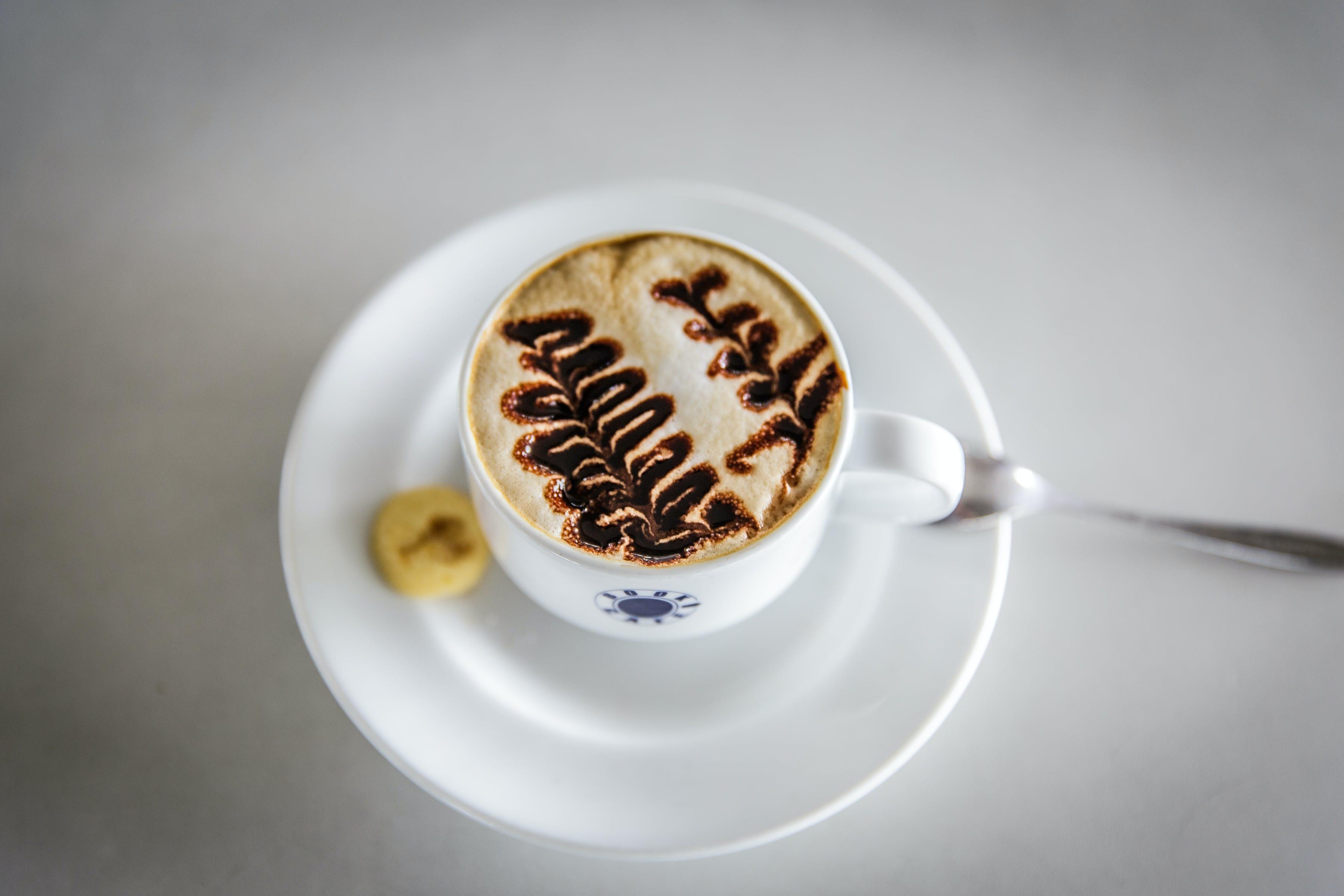 Kostenloses Stock Foto zu cappuccino, espresso, kaffee, kaffeebecher