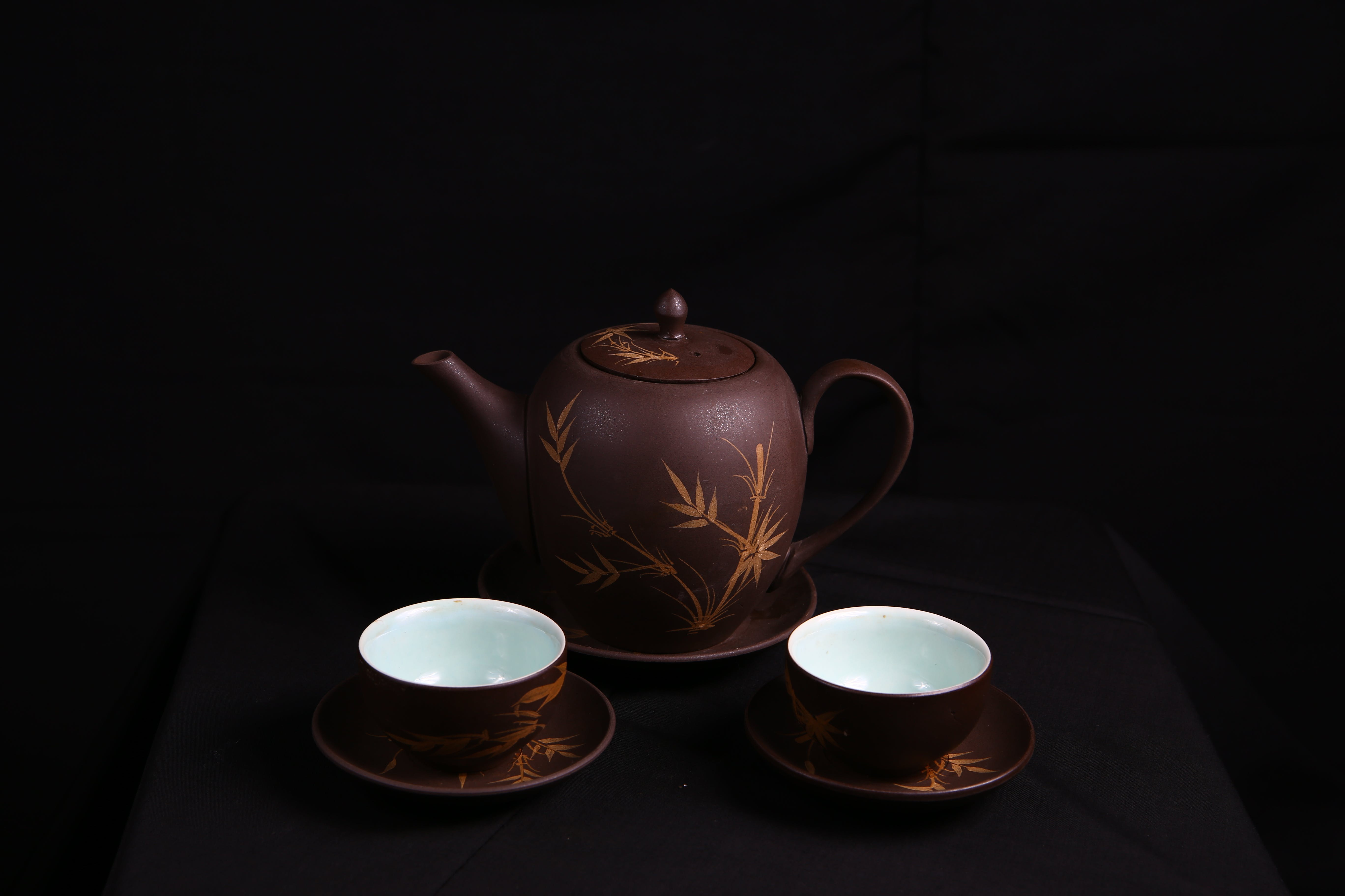 Základová fotografie zdarma na téma čajová konvice, čajové šálky, keramika, porcelán