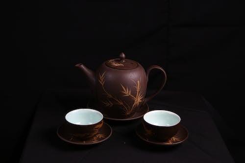Fotos de stock gratuitas de cerámica, copas, porcelana, tazas de té