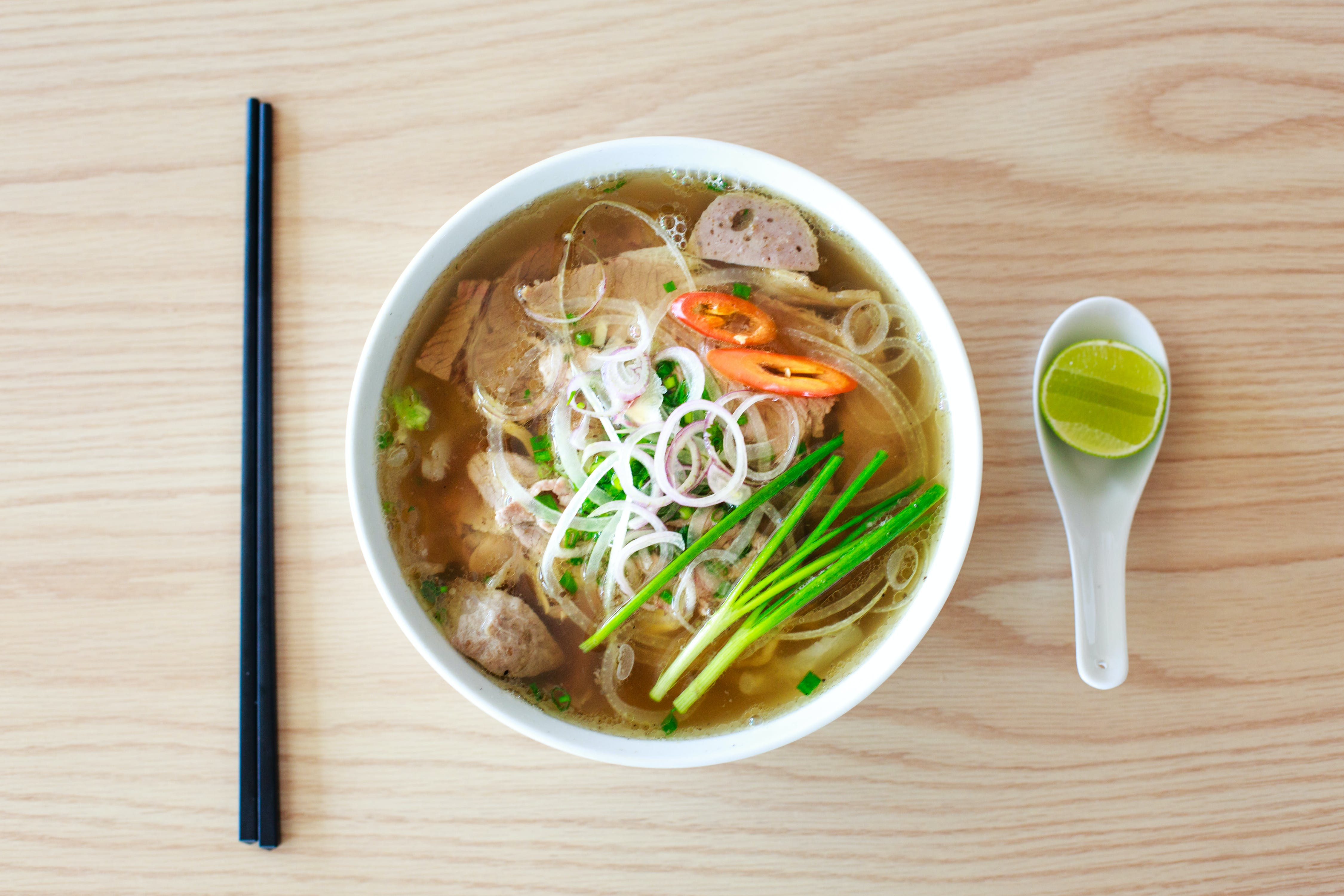 Food Photography of Ramen Noodle