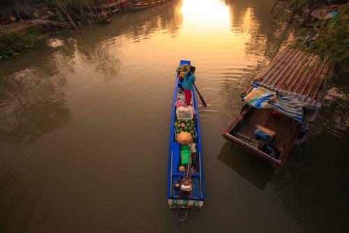 Imagine de stoc gratuită din ambarcațiune, ambarcațiuni, apă, apă curgătoare