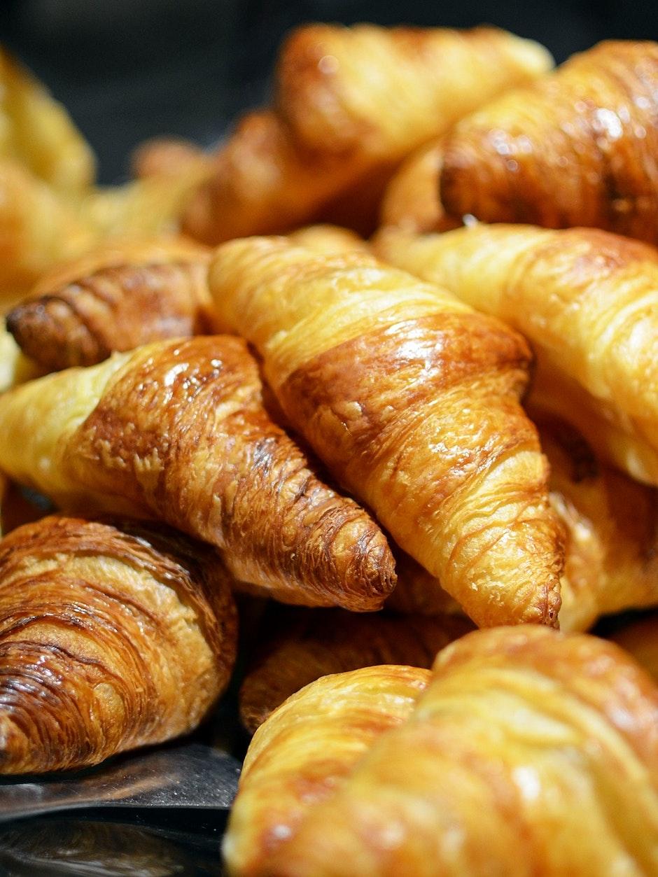 bakery, breakfast, croissant