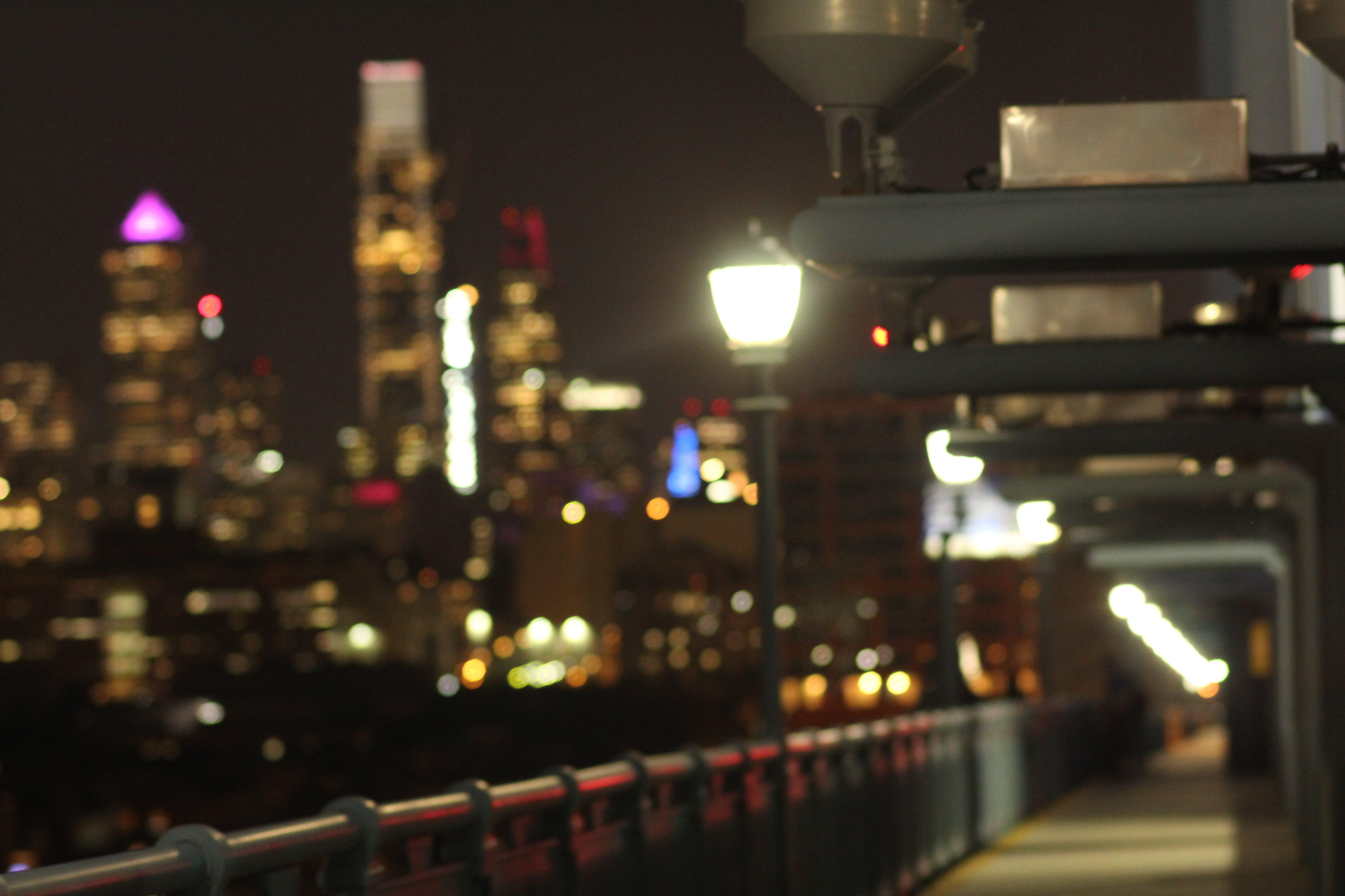 Free stock photo of bridge, city, evening, light