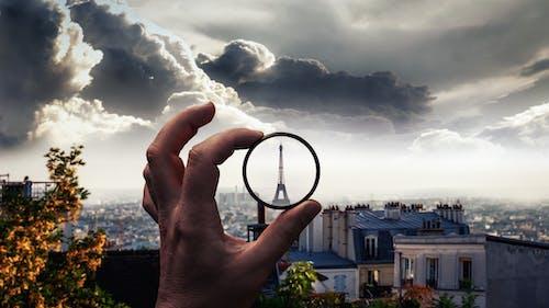 Foto d'estoc gratuïta de cel, ciutat, filtres, França