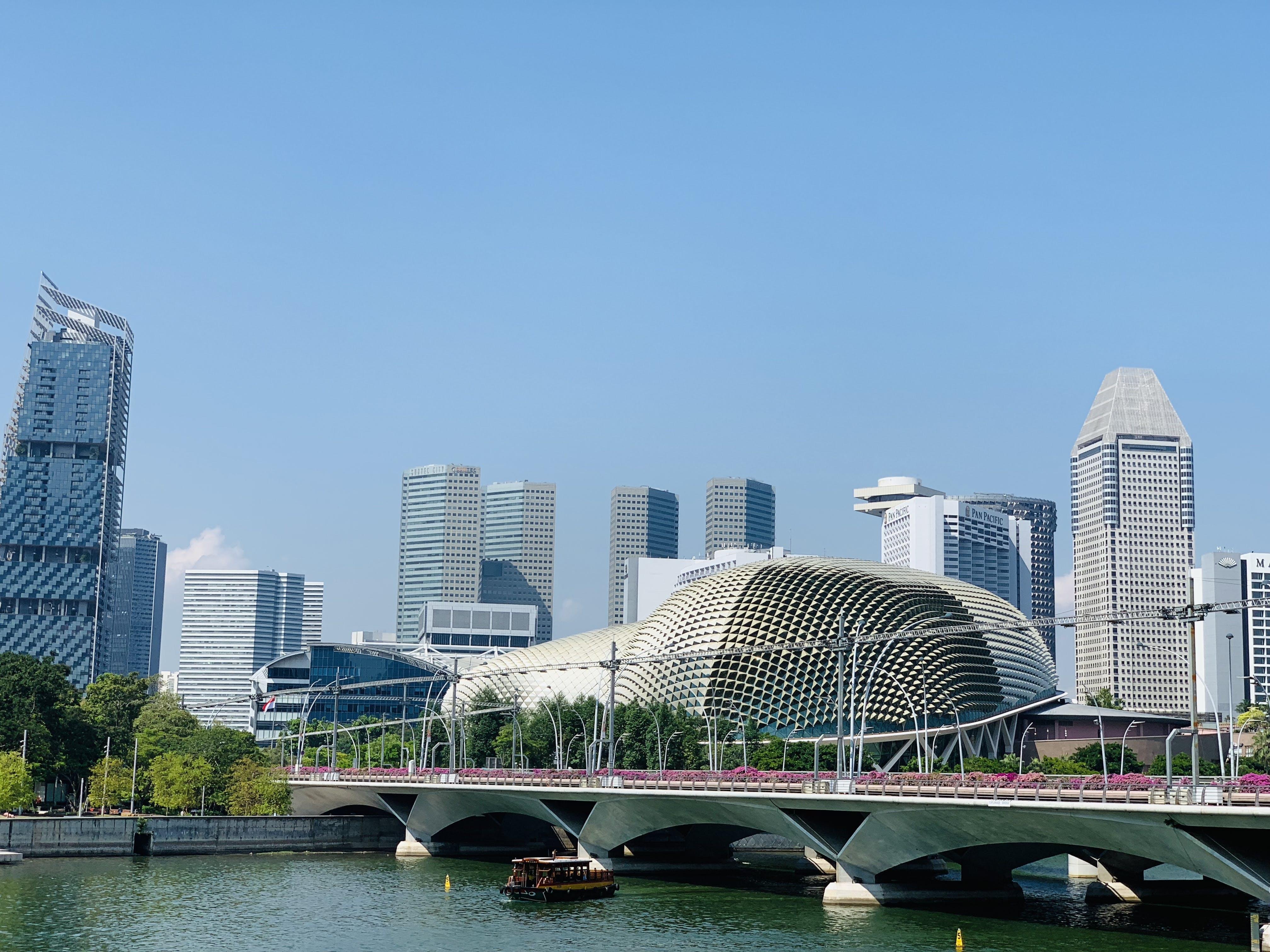 Free stock photo of singapore