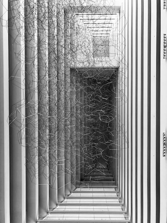 bejárat, design, építészet