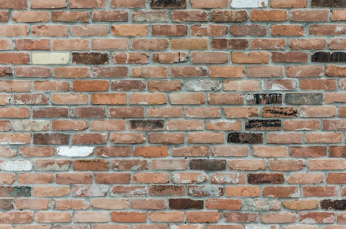 Brown Brick Wall Close-up Photography