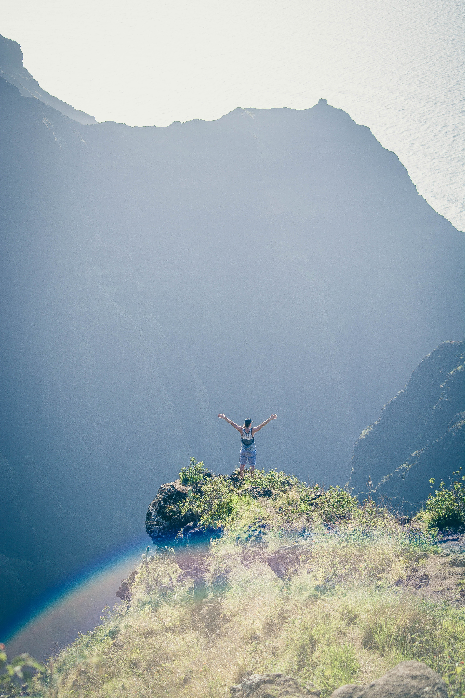 경치, 경치가 좋은, 등산하다, 락의 무료 스톡 사진