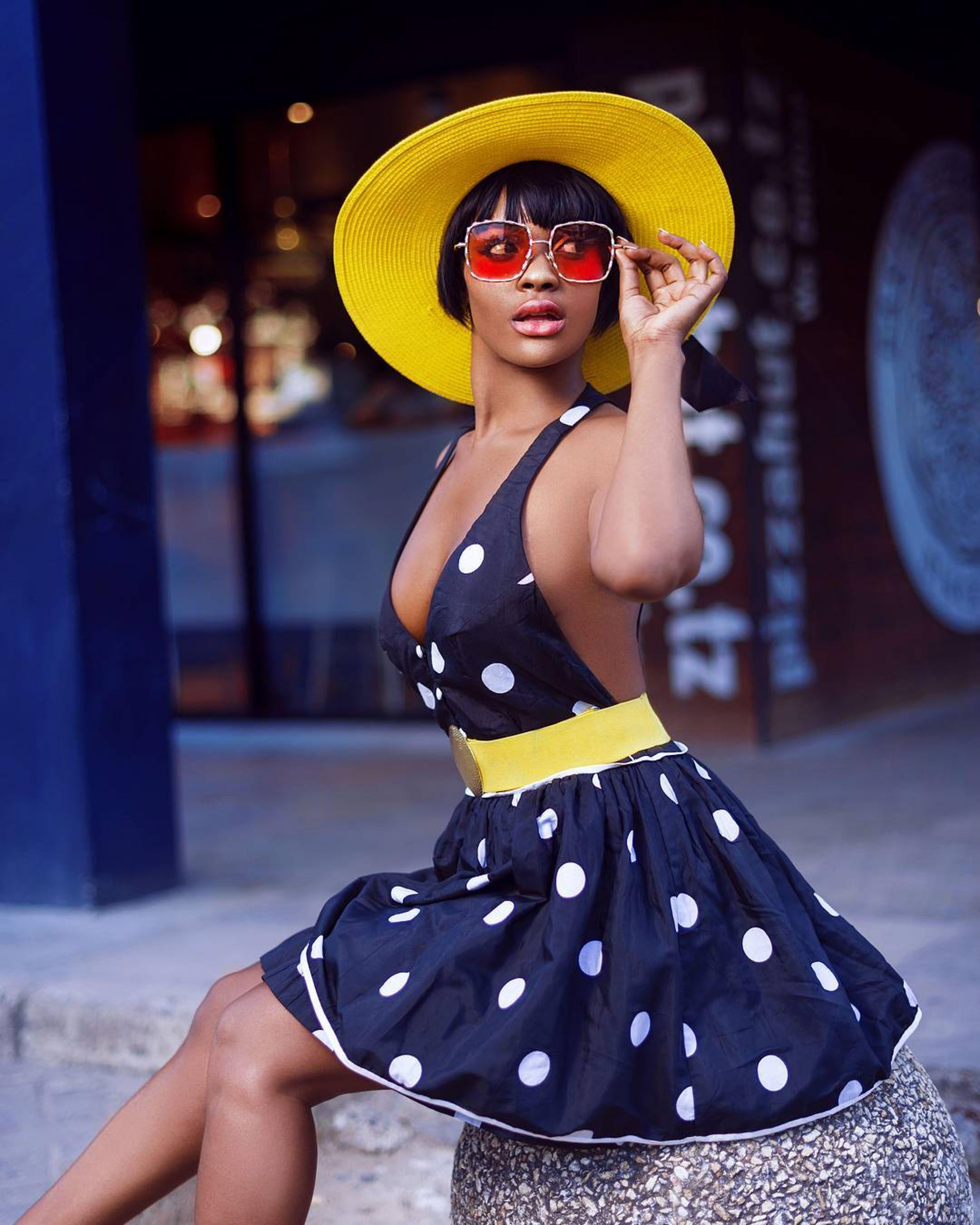 Photo Of Woman Wearing Polka Dots Dress
