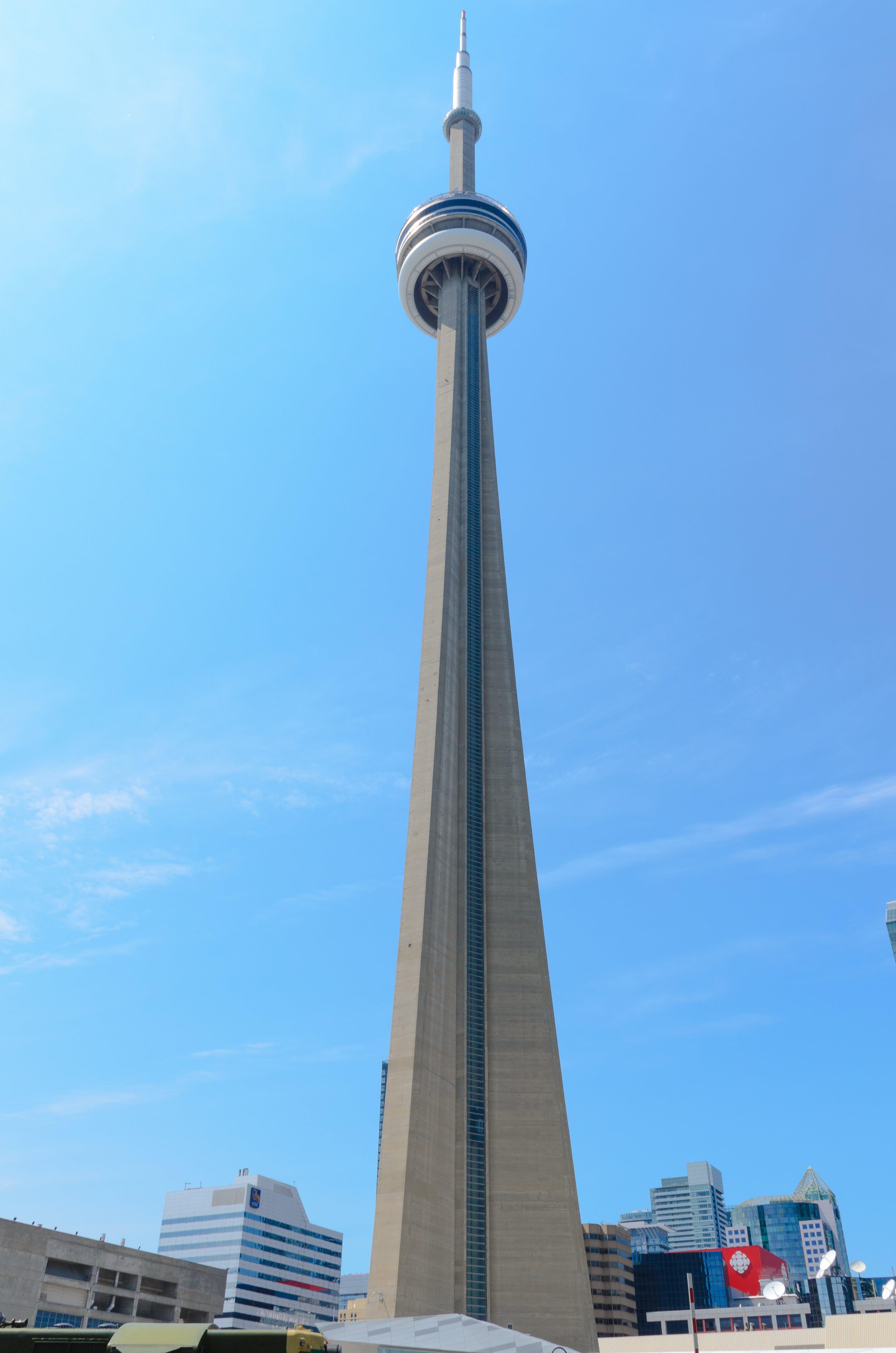 Gray Concrete Tower