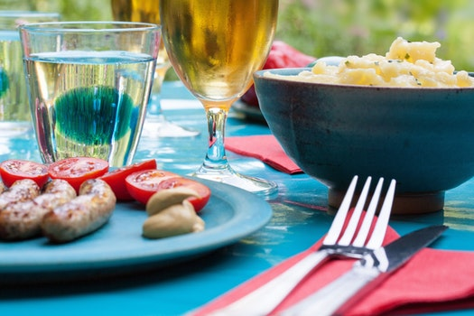Free stock photo of food, summer, party, dinner