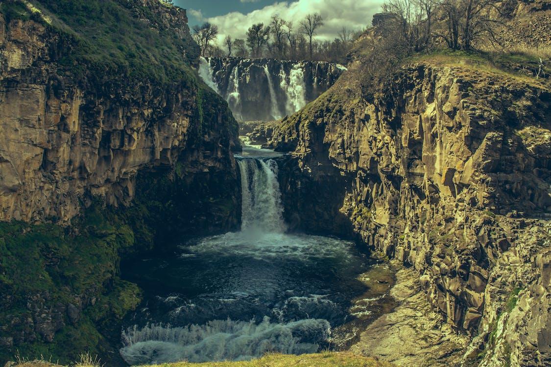 Waterfalls Painting