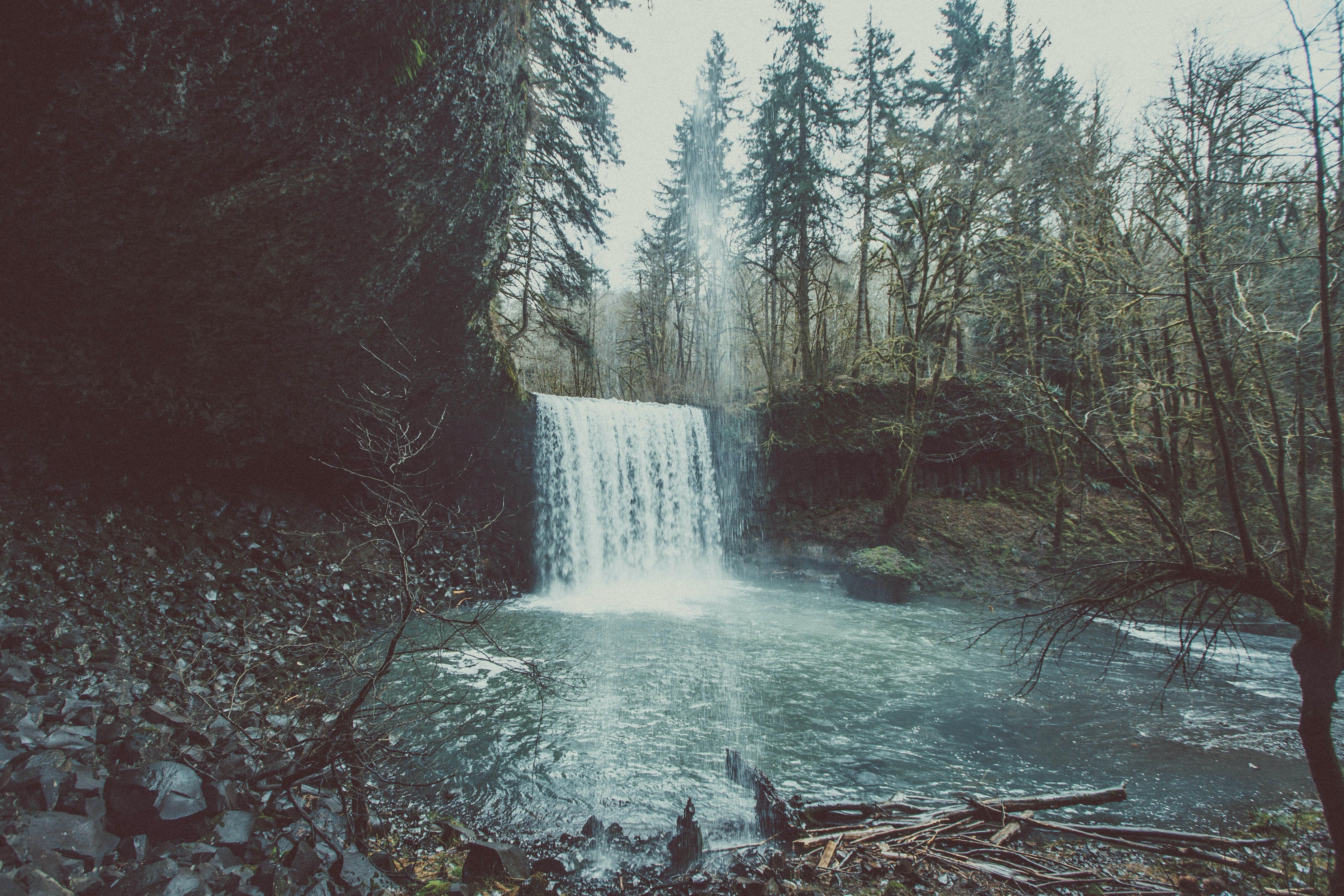 Landscape Photography Of Waterfall 183 Free Stock Photo