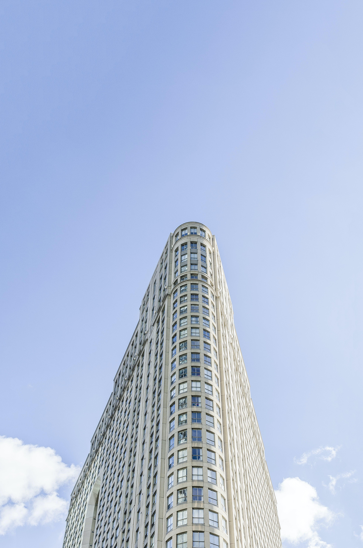 Foto d'estoc gratuïta de arquitectura, cel, cel blau, centre de la ciutat
