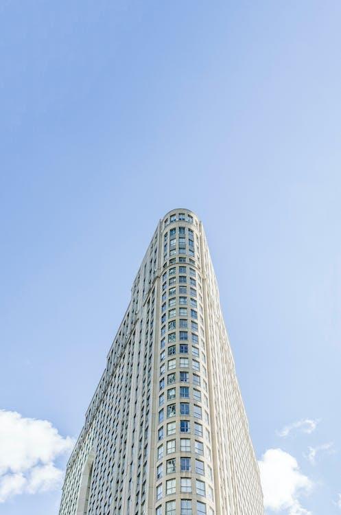 architektura, budova, centrum města