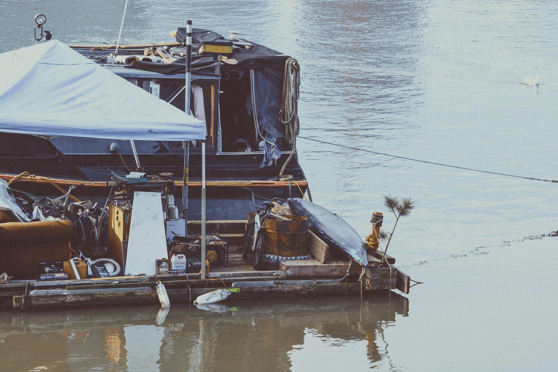 boat, lake, river