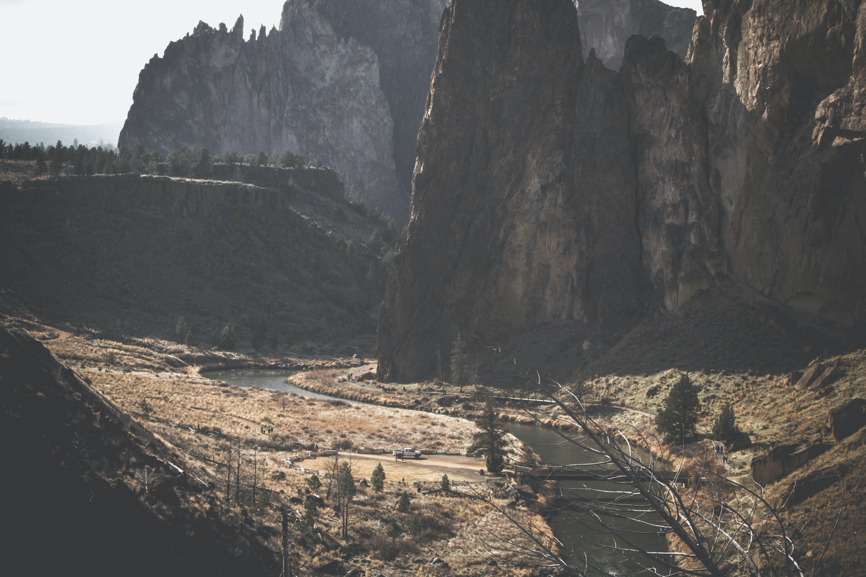 Kostenloses Stock Foto zu bäume, berg, bergwerk, canyon