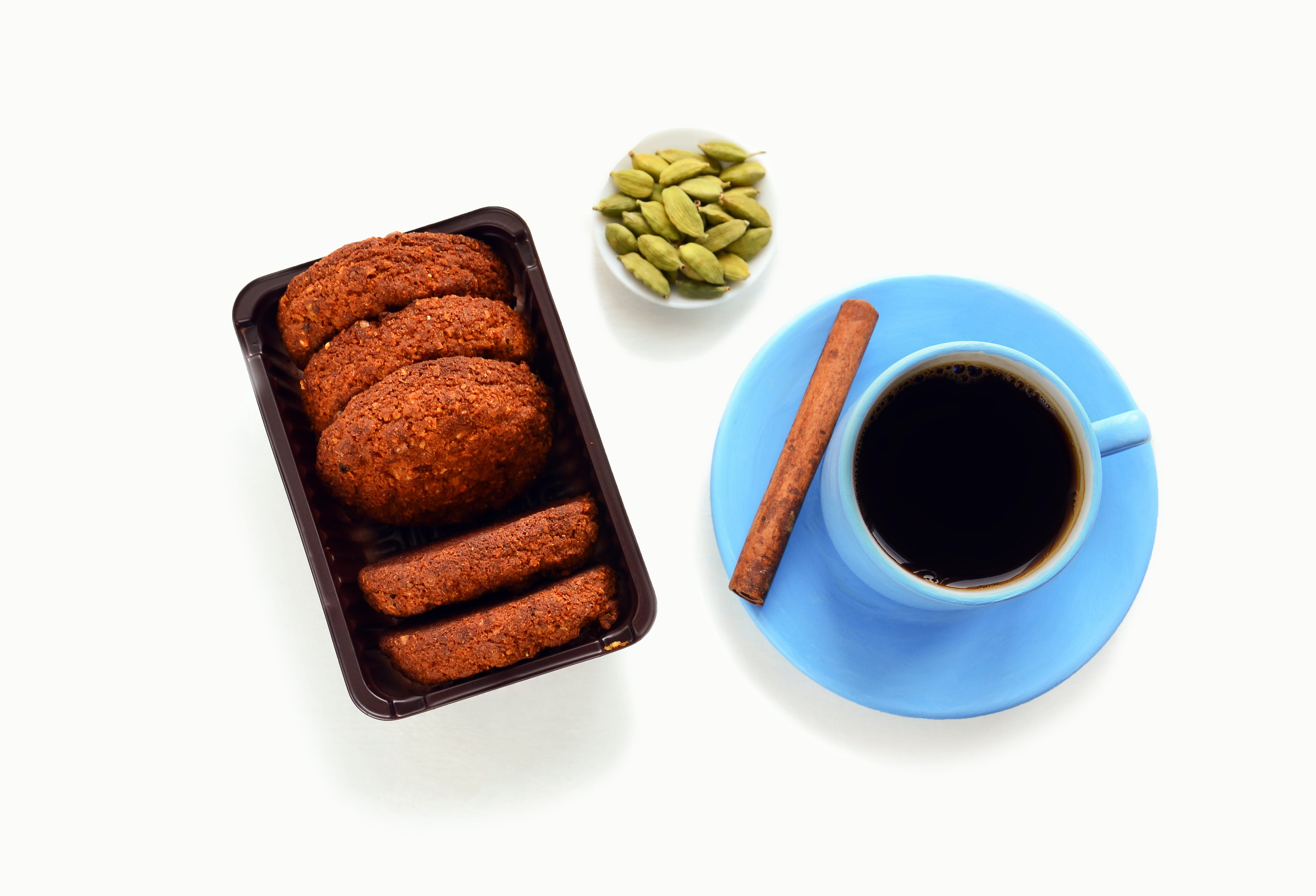 Kostenloses Stock Foto zu becher, essen, frühstück, gebäck