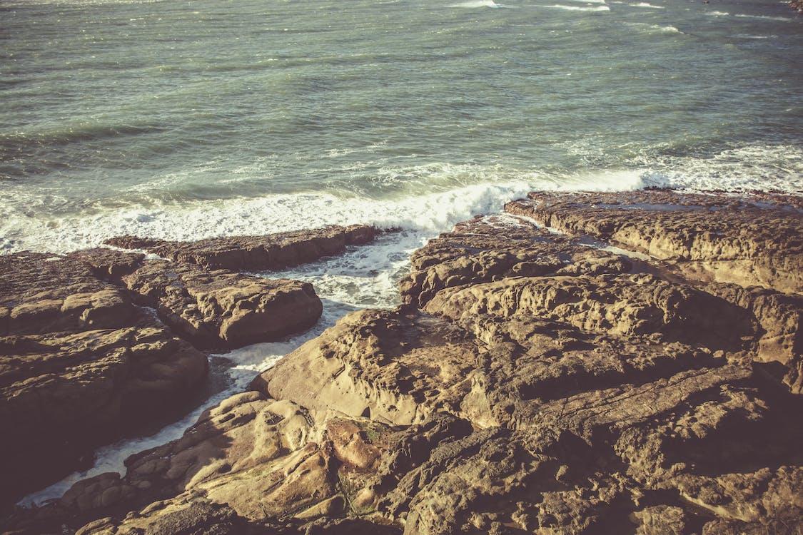 daglicht, golven, h2o