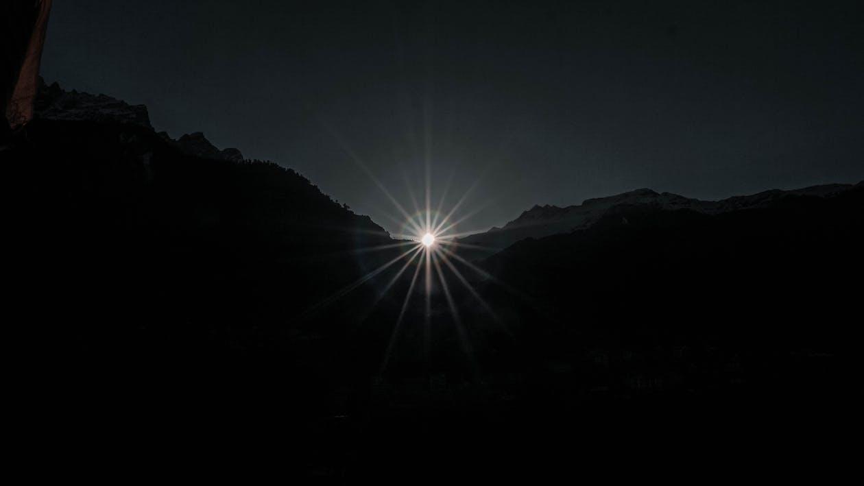 amanecer, efectos solares