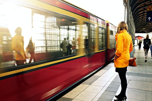Free stock photo of people, woman, girl, train