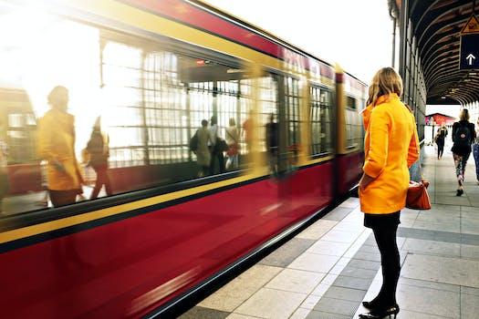 Free stock photo of people, woman, girl, train
