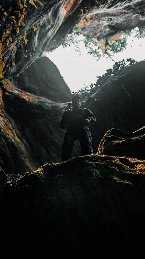 Gratis lagerfoto af antenne, Backpacker, bjerg, dainese