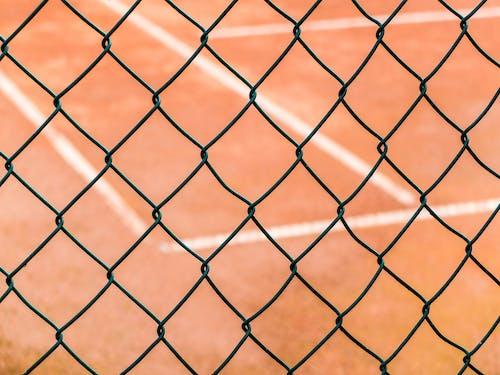 Ảnh lưu trữ miễn phí về chủ nghĩa tối giản, hàng rào dây xích, quần vợt, tối giản
