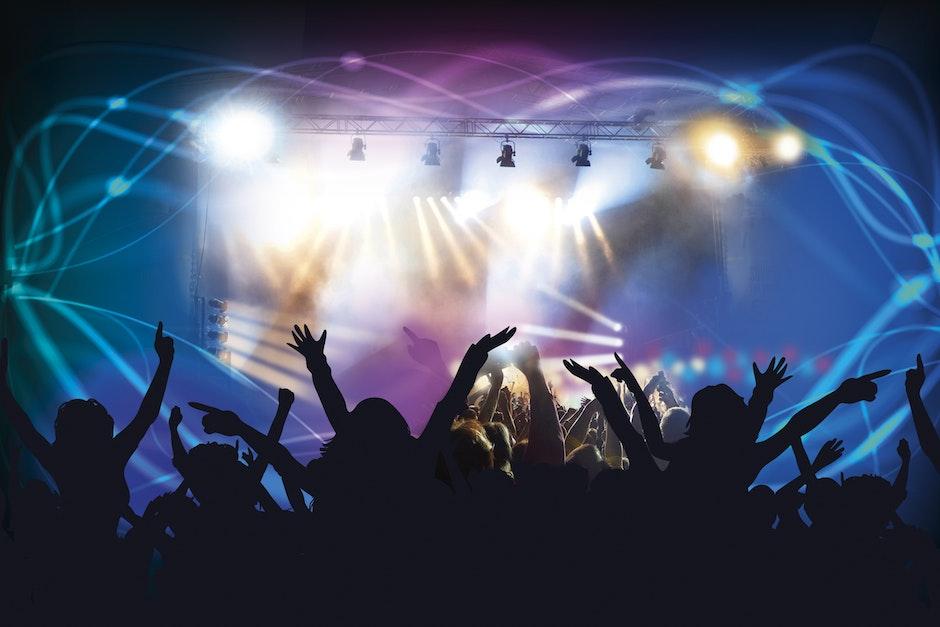 cheerful, club, concert