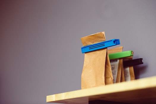 Free stock photo of brown, shelf, eco, paper