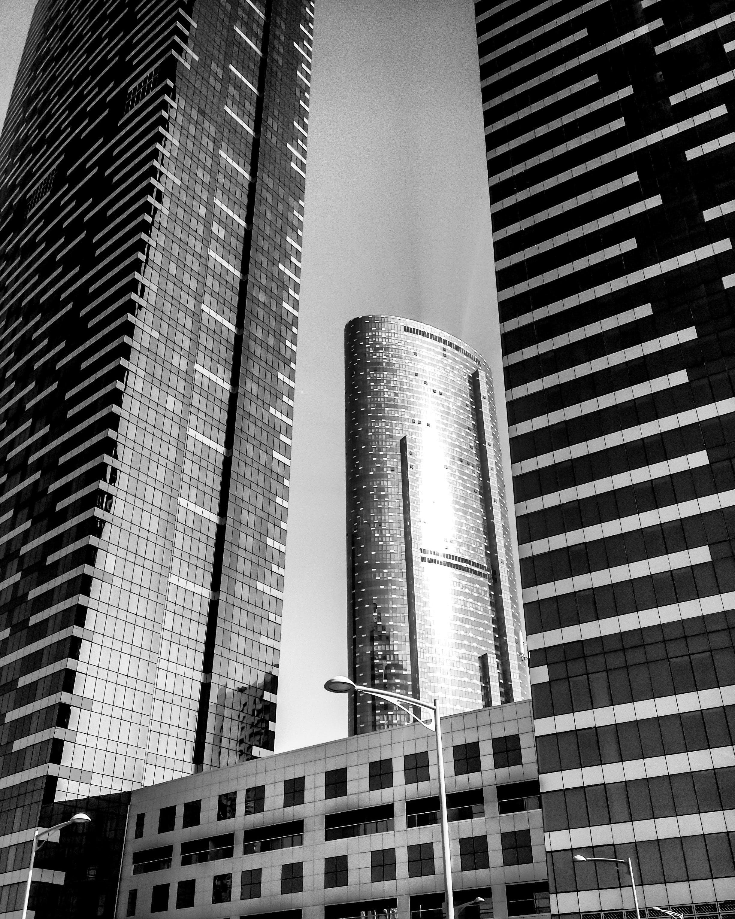 Concrete Buildings Under Clear Sky