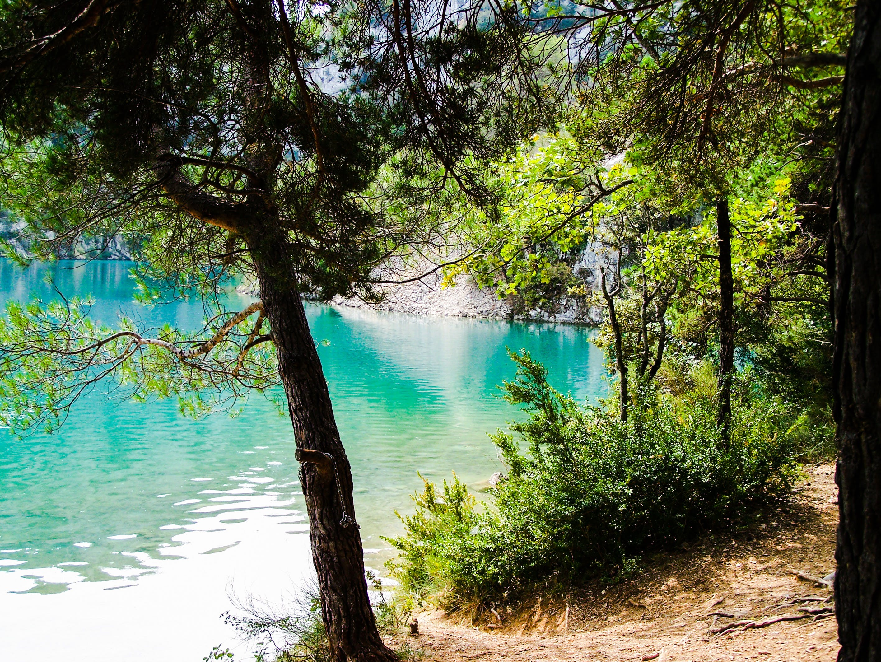 Free stock photo of lake, provence