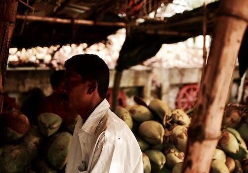 Ilmainen kuvapankkikuva tunnisteilla Intia, katukuva, kauppias